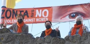 Zonta protesteert tegen geweld op vrouwen