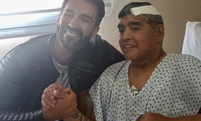 """""""Huiszoeking bij persoonlijke arts van Maradona, ruzie tussen beiden wordt onderzocht"""""""