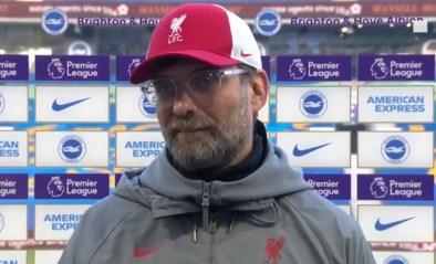 """Jürgen Klopp boos om nieuwe blessure: Liverpool-coach noemt collega """"egoïstisch"""" en zegt cynisch """"proficiat"""" tegen journalist"""