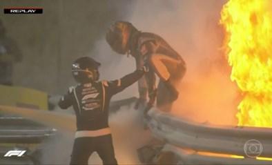 Horrorcrashes in Formule 1: piloot ontsnapt aan de dood nadat wagen in vuurbal verandert, andere auto landt ondersteboven