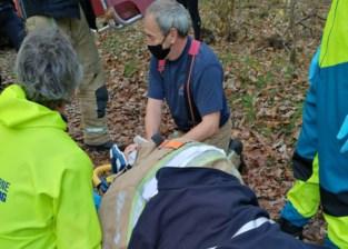 Zwaargewond na crash met mountainbiker in natuurgebied: wandelaarster getuigt