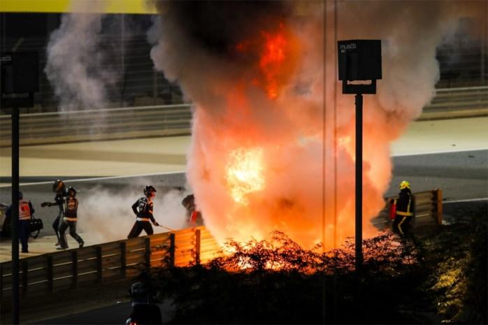 Aan bijna 200 km/u de muur in en een halve minuut in een vuurzee: hoe overleefde F1-rijder Romain Grosjean zijn horrorcrash?