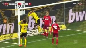 Keulen stunt tegen Borussia Dortmund: Haaland mist reuzekans, Meunier geblesseerd
