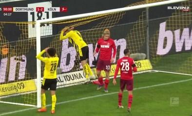 Hij is dan toch menselijk: Erling Haaland mist reuzenkans voor Borussia Dortmund