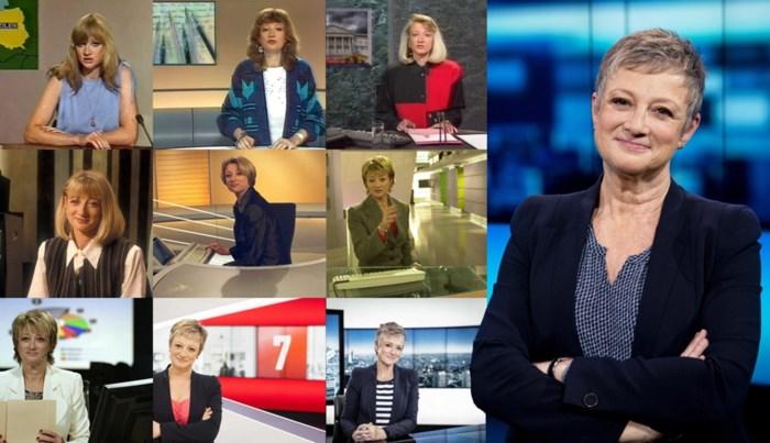 Onze reporter neemt afscheid van Martine Tanghe (65), de moeder van alle nieuwsankers die met pensioen gaat