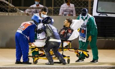 """Romain Grosjean mag ziekenhuis dinsdag verlaten na crash in Bahrein: """"Behandeling van brandwonden verloopt goed"""""""