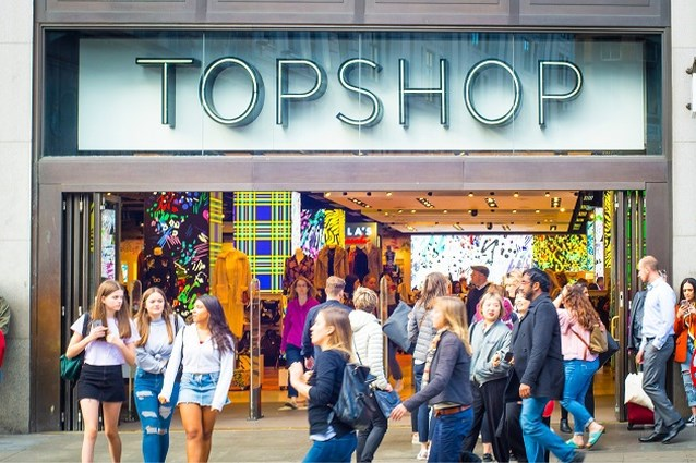 Is het over en uit voor kledingketen Topshop?