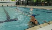 """Zwembad Poseidon laat tien zwemmers per uur toe: """"We hebben ons niet verveeld de voorbije weken, maar niets gaat boven baantjes trejjeb"""""""