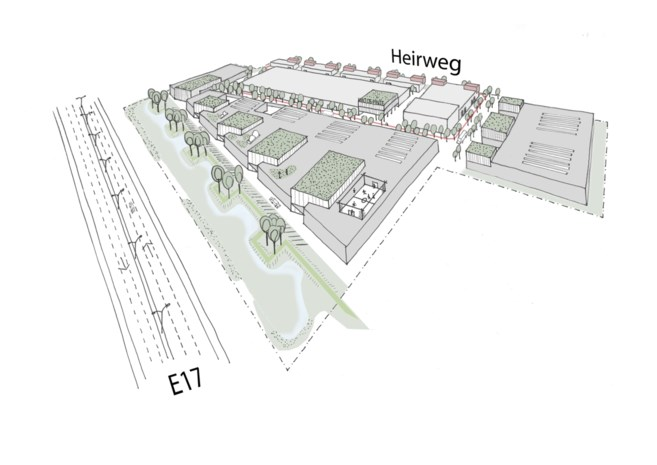 Nieuw bedrijventerrein in De Pinte wordt tien voetbalvelden groot