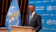 """Directeur-generaal WHO: """"Aantal besmettingen wereldwijd voor het eerst gedaald, maar wees voorzichtig tijdens feestdagen"""""""