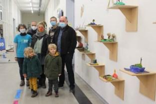 Kinderen tonen hun ideale groene stad via kunstwerkjes