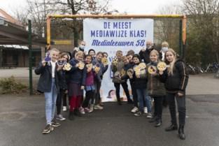 Vijfde leerjaar De Leeuw is meest mediawijze klas van Vlaanderen