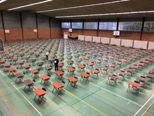 Sint-Laurens werkt samen met gemeenten om veilig examens te organiseren