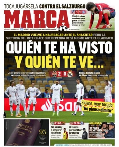 """Dagen van Zinedine Zidane bij Real Madrid lijken geteld: """"Van kwaad naar erger"""" en """"Limiet is bereikt"""""""