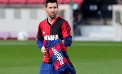 Straf! Lionel Messi krijgt boete van 600 euro voor eerbetoon aan Diego Maradona
