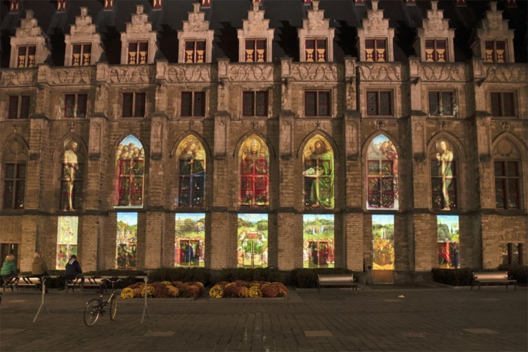 Lam Gods krijgt modern tintje en wordt geprojecteerd in centrum Gent
