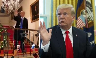 """""""Ik zie jullie terug over 4 jaar"""": Trump hint naar nieuwe poging om president te worden in 2024 op kerstfeestje"""