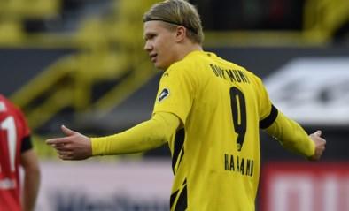 Dortmund moet superspits Erling Haaland tot begin januari missen door spierblessure
