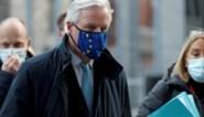 """Europees hoofdonderhandelaar Michel Barnier: """"Komende 36 uur cruciaal voor brexit-onderhandelingen"""""""