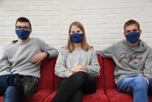 Leerlingen Sint-Vincentius starten mini-onderneming op met eigen mondmaskers