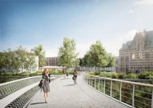 Aannemer bouwt twee bruggen over Dijle voor nieuwe stadswijk met 800 woningen