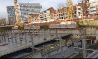 Nieuwe parking onder Antwerpse Zuiderdokken is open