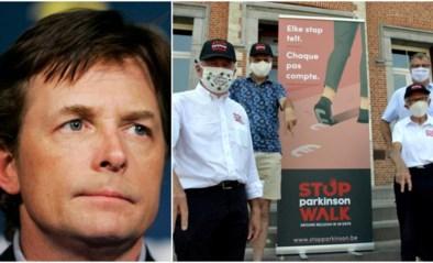'Back to the Future'-ster Michaël J. Fox verdubbelt bedrag dat Ivo (65) inzamelde met zijn Stop Parkinson Walk