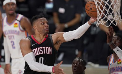 Grote ruildeal in NBA: Houston wisselt Russell Westbrook voor John Wall van Washington