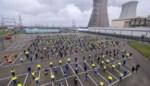 Honderden betogen voor eigen job aan kerncentrale in Doel