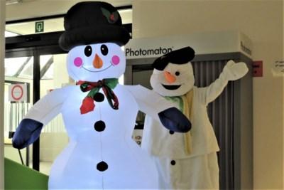 Sempstie de sneeuwman moet Zemst door koude en donkere wintermaanden helpen