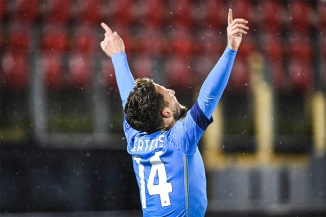 EUROPA LEAGUE. Dries Mertens scoort voor Napoli, Jan Vertonghen voor Benfica