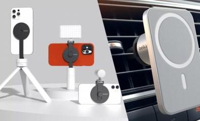 Opladen zonder draad, maar mét magneten: met deze accessoires gaat het makkelijker, sneller én het ziet er nog mooi uit ook