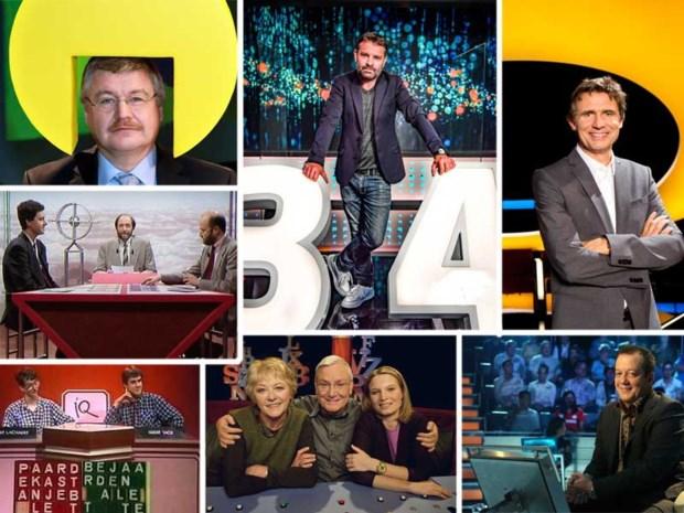 OVERZICHT. De zoektocht naar de perfect quizzer: al 64 jaar lang op de Vlaamse televisie