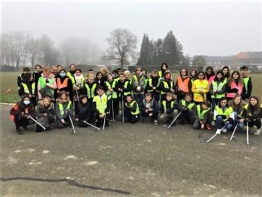 Leerlingen gaan voor minder afval op school