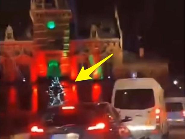 Gewapende jongeren wilden kerstboom in brand steken in Anderlecht