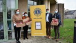 Lions Club trakteert Zorgt Tielt en Familiezorg op chocolade Sinten