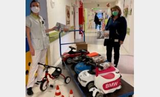 Trapautootjes voor zieke kinderen in AZ Jan Portaels