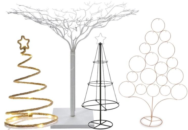 Geen echte en plastic naalden: drie alternatieven voor een kerstboom