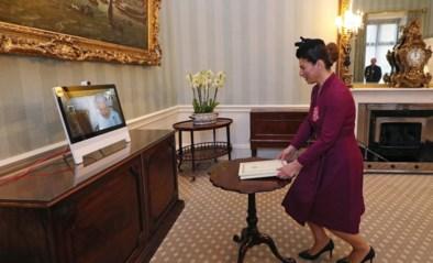 Dan mag je eens bij de Queen op bezoek, is het coronacrisis