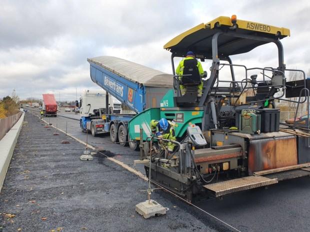 Werken aan viaduct klaar tegen maart