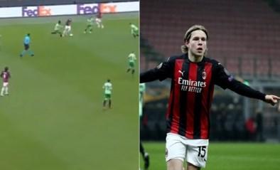 Noorse groeibriljant scoort beauty voor Milan na dribbel waarop Eden Hazard jaloers zou zijn