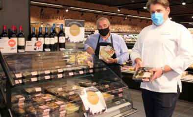 Lokale restaurants verkopen hun gerechten in AD Delhaize