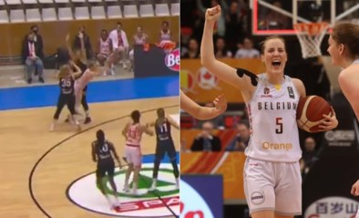 "Belgian Cat Kim Mestdagh 'on fire' in de Champions League van het basketbal: ""Dat is gewoon ridicuul"""