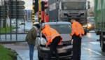 Tien wagens betrokken in kettingbotsing bij kruispunt