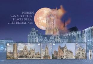 Onze journalist maakt foto's voor Mechelse postzegelreeks