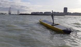 Eerste Belgische onbemand vaartuig vaart zeehaven binnen