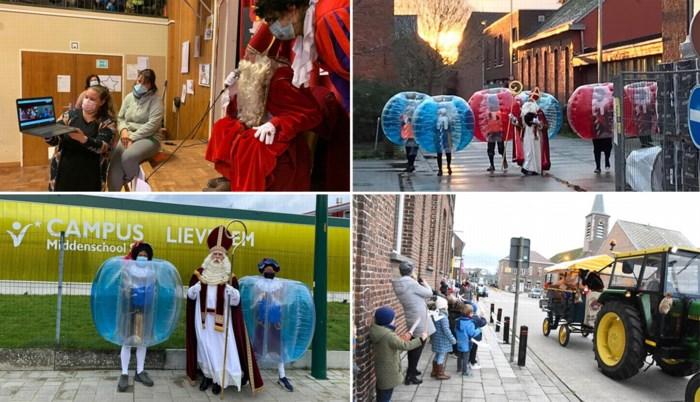 Toneeltjes, video-Sinten en bubbel-Pieten: scholen zetten alles op alles om Sinterklaasfeest te laten doorgaan