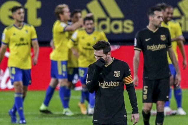 LA LIGA. Barcelona onderuit tegen promovendus, Zidane redt (voorlopig) zijn vel na zege tegen Sevilla