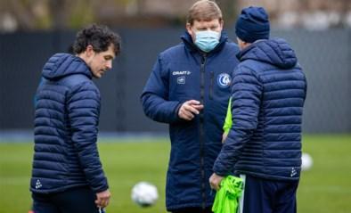 IN BEELD. Kersvers coach Hein Vanhaezebrouck gaat meteen aan de slag bij AA Gent