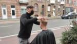 """Belgische kappers houden ludieke protestactie: """"Water staat ons aan de lippen"""""""